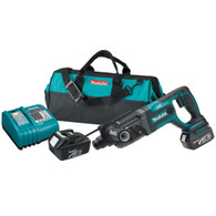 Makita BHR241 18V Li-Ion Cordless 7/8 In. SDS-PLUS Rotary Hammer Kit