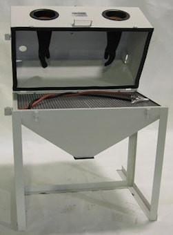 Cyclone FT3522 Full Top Opening Abrasive Sandblast Cabinet