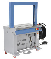VESTIL ASM-3123 AUTOMATIC HIGH SPEED STRAPPING MACHINE is a productive solution to most polypropylene strapping tasks.