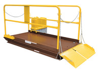 VESTIL WL-100-5-48 PREM TRUCK SCISSOR DOCK LIFT 5K 4X8 FT is engineered and designed for maximum safety and efficiency