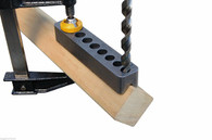 Big Gator Tools STD2000DGNP Standard V-DrillGuide®  - 3/8IN-1/2IN features a precision ground base to assure stability and accurate perpendicular alignment of drill bits on flat surfaces.