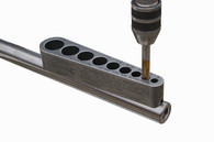 Big Gator Tools STI-UNF200SNP STI-UNF V-TapGuide® features a precision ground base to assure stability and accurate perpendicular alignment of drill bits on flat surfaces.