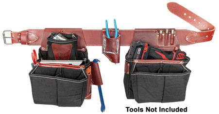 Occidental Leather 8087 OxyLights Driver Tool Belt Set - Tools Not Included!