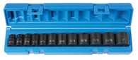 Grey Pneumatic 1202 12-Point Fractional Impact Socket Set