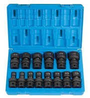 Grey Pneumatic 1314U Fractional Universal Socket Set Standard 1/2""