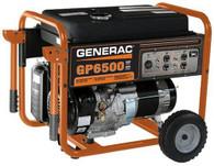 Generac 5946 6500 Watt Portable Generator, CARB