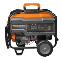 Generac 6827 XC8000E 8.0 KW EStart Portable Generator, CARB