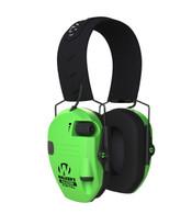 Walker's GWP-SF-RSEM-HVG Razor Slim Profile Ear Muff - High Visibility Green