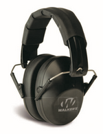 Walker's GWP-SF-FPM1 Low Profile Folding Ear Muffs - Black