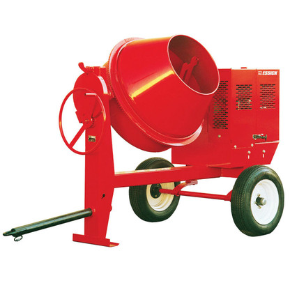 Multiquip MC44SE Whiteman Concrete Mixer Steel-Drum 0.5HP