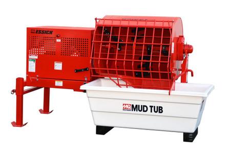 Multiquip EM12M Essick 12cf Mortar/Plaster Mixer Honda GX390