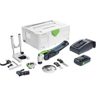 Festool 574855 Vecturo OSC 18 StarlockMax Cordless Multi-Tool Basic Set 3.1Ah Kit