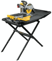 DeWalt D24000S 10 inch Wet Tile Saw