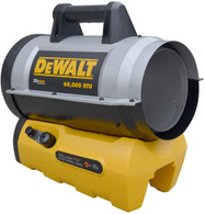 DeWalt DXH70CFAV 68000 BTU Cordless Forced Air Propane Heater