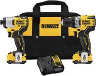 DeWalt DCK221F2 12V Max XR Drill/Impact Driver Kit