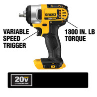 DeWalt DCF880B 20V Max 1/2in Impact Wrench (Tool Only)