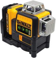 DeWalt DW089LG Self Leveling 3 Beam Line Laser