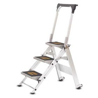 Little Giant 10310B Safety 3 Step With Bar And Tray