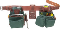 Occidental Leather 8080DB OxyLights Framer Tool Belt Set w/ Double Outer Bags