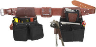Occidental Leather 8086LH OxyLights Ultra Framer Tool Belt Set - Left Handed