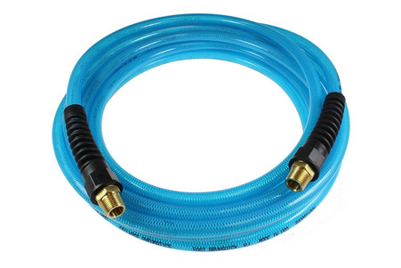 Coilhose Pneumatics PFE61006T Flexeel blue 3/8 In x 100 Ft polyurethane air hose