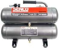 Senco PC1131 Air Compressor 2.5 Horsepower (Finish/Trim)