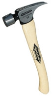 Stiletto FH10C Titanium Finisher 10 Oz Smooth Face Curved Hickory 14.5""