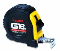 Tajima G-16BW G-Series 16 Foot X 1 Inch Tape Measure