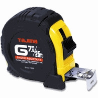 Tajima G-25/7.5MBW G-Series 25 ft 7.5 m Tape Measure
