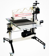 Jet 649600 Drum Sander 22-44 Pro 3HP, 1Ph, DRO, Tables and Casters