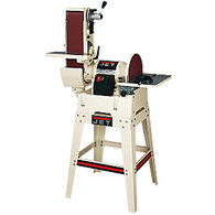 Jet 708599K JSG-6DCK, 6 x 48 in. Belt / 12 in Disc Sander w/ Open Stand
