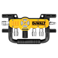 DeWalt D55040 Quadraport Air Line Splitter with Regulator