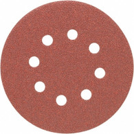 Porter Cable 735801005 5 in. 8-hole 100 Grit Hook and Loop Sanding Disc - 5 Pack