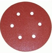 Porter Cable 736600625 6 in. 6-hole 60 Grit Hook and Loop Sanding Disc - 25 Pack