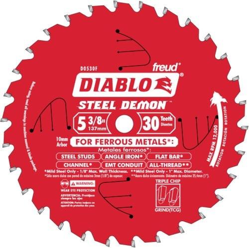 Diablo Steel Demon 30 Tooth Tcg Metal Cutting Circular Saw