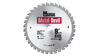 MK Morse 101349 7 1/4 in. x 40T Metal Devil Cutting Circular Saw Blade - Steel