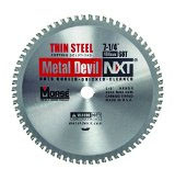 MK Morse 101790 7 1/4 in. x 68T Metal Devil Circular Saw Blade Thin Steel