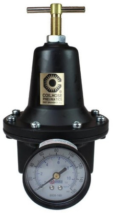 Coilhose Pneumatics 8802G-CS 1/4 Inch Heavy Duty Regulator