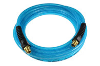 Coilhose Pneumatics PFE61004T 3/8 In x 100 Ft Flexeel Blue Air Hose 1/4 In Fitting