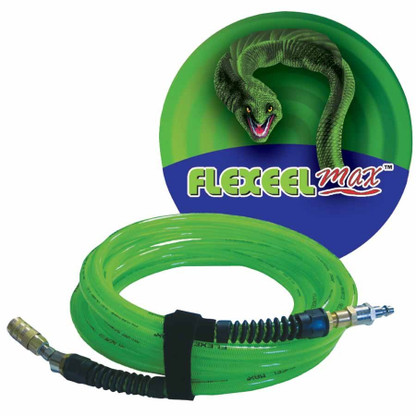 Coilhose Pneumatics PFX4050GS15XS 1/4 Inch x 50 Feet Flexeel Max Air Hose