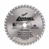 "Milwaukee 48-40-4112 6-1/2"" 40T Circular Saw Blade For Wood"