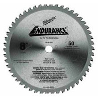 "Milwaukee 48-40-4520 8"" 50T Circular Saw Blade For Metal"