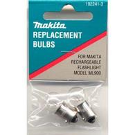 Makita 192241-3 Flashlight Bulb 9.6V (2 pk)