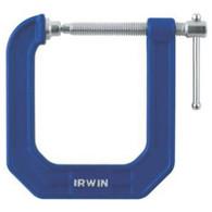 Irwin 225123 2 In C-Clamp 3-1/2 Throat Depth