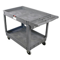 JET 140019 PUC-3725 Resin Utility Cart 140019