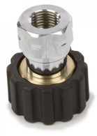 Forney Industries 75106 M22F X 1/4 in F Screw Coupling