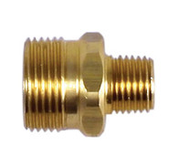 Forney Industries 75115 M22M X 1/4 in M Nipple