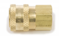 """Forney Industries 75127 Quick Coupler 1/4"""" F Socket"""