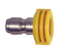 "Forney Industries 75153 Quick Connect Chiseling Spray Nozzle Yellow 15° x 4.5 1/4"" X 15"