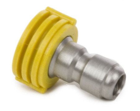 """Forney Industries 75154 Quick Connect Chiseling Spray Nozzle Yellow 15° x 5.5 1/4"""" X 15"""